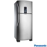 Refrigerador Botton Freezer de 02 Portas Frost Free Panasonic com Capacidade de 435 Litros Inox - NRBT48PV1X