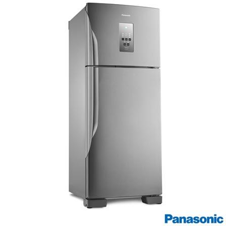 Geladeira/refrigerador 435 Litros 2 Portas Aço Escovado - Panasonic - 110v - Nr-bt51pv3xa