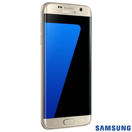 French Door Samsung 04 Portas 614 Litros Inox - RFG28MESL + Galaxy S7 Edge Dourado, 5,5, 4G, 32 GB e 12 MP - SM-G935F, 0, Acima de 500 litros