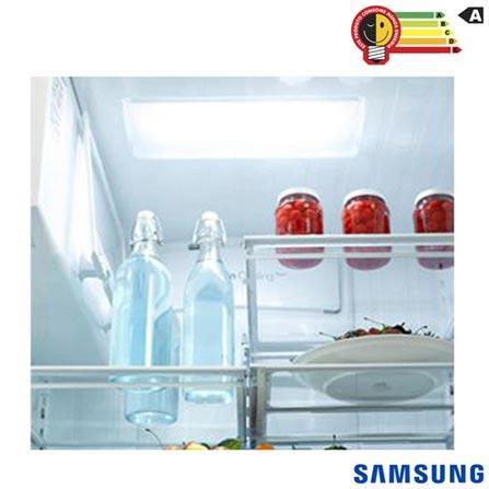 Refrigerador French Door Samsung de 03 Portas com 589 Litros Painel Eletronico Inox - RF263BEAESL, 110V, Inox, Acima de 500 litros, 589 Litros, 145 Litros, 444 Litros, 62,5 kWh/mês, Sim, Sim, Não se aplica, 03 Portas, French Door