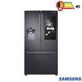 Refrigerador French Door Samsung Family Hub de 03 Portas Frost Free com 582 Litros Black Inox - RF265BEAESG/AZ