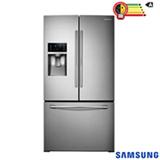 Refrigerador French Door Samsung de 03 Portas Frost Free com 665 Litros com Auto Ice Maker Inox - RF28HDEDBSR