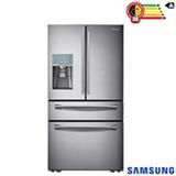 Refrigerador French Door Sparkling de 4 Portas Frost Free Samsung com 632 Litros Inox - RF31FMESBSL