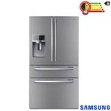 Refrigerador French Door Samsung de 04 Portas Frost Free com 614 Litros Painel Eletrônico Inox - RFG28MESL