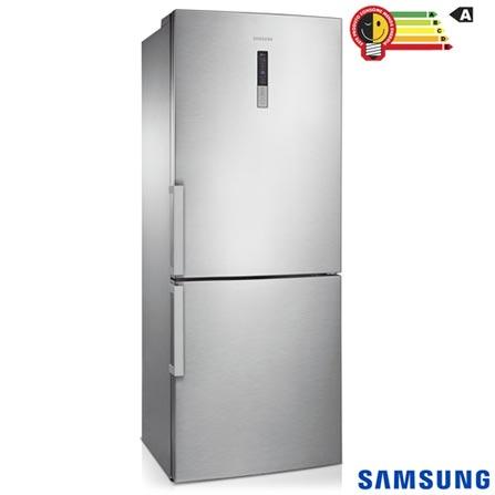 Geladeira/refrigerador 435 Litros 2 Portas Inox Bottom Freezer Barosa - Samsung - 220v - Rl4353jbasl/bz