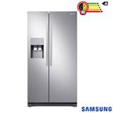 Refrigerador Side By Side Samsung de 02 Portas Frost Free com 501 Litros Painel Eletrônico Inox - RS50N3413S8/AZ