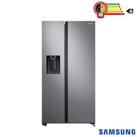 Geladeira/refrigerador 617 Litros 2 Portas Inox Side By Side - Samsung - 110v - Rs65r5411m9/az