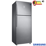 Refrigerador de 02 Portas Samsung Frost Free com 453 Litros Painel Eletronico Inox - Twin Cooling Plus - RT46K6361SL