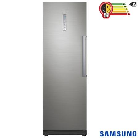 Freezer Vertical Samsung de 277 Litros Frost Free Inox Look - RZ28H61507F/AZ, 110V, Inox, Vertical, Sim, De 201 a 400 litros, 277 Litros, 277 Litros, Não se aplica, Sim, Não, Sim, Não, Não se aplica, Não, Não especificado, Não especificado, Não, Não especificado, 37,1 kW/h, A, 12 meses
