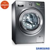 Lava & Seca 10,1 Kg Samsung Seine Eco Bubble Inox com 14 Programas de Lavagem - WD106UHSAGD