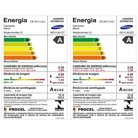 , 110V, 220V, Inox, Frontal, 11 Kg, Acima de 10 kg, 11 kg, 06 kg, Classe A, 110V - 0,30 kWh e 220V - 0,29 kWh, 110V - 105,5L e 220V - 98,6L, Não especificado, Sim, Sim, Sim, Sim, Elétrica, 12 meses, Não, Não, Aço Inox, Eletrônico, 14, 02, Sim, Lava-Seca, Sim, Sim, 1400 rpm