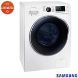 Lava & Seca 9 Kg Samsung Crystal Gloss Door Branca com 14 Programas de Lavagem - WD90J6410AW