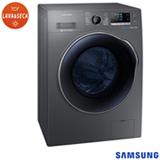 Lava & Seca 9 Kg Samsung Crystal Gloss Door Inox com 14 Programas de Lavagem - WD90J6410AX