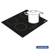 Cooktop por Indução Tramontina Square Touch 4 Bocas + Brinde Panela Caldeirão Duo com Fundo Triplo - 94746