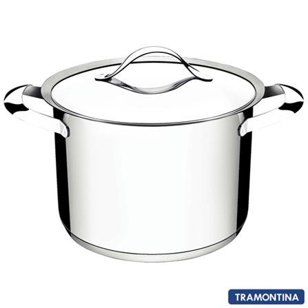 Cooktop por Indução Tramontina Square Touch 4 Bocas + Brinde Panela Caldeirão Duo com Fundo Triplo - 94746, LB, 04 Bocas, Inox, Gás, 7894693048196, 220V