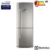Refrigerador Bottom Freezer Inverter Electrolux de 02 Portas Frost Free com 454 Litros Painel Blue Touch - IB53X