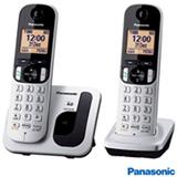 Telefone sem Fio Panasonic DECT 6.0, Viva Voz e Identificador de Chamadas - KX-TGC212LB1