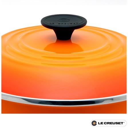 Panela Stock Pot em Aço Esmaltado com 22 cm 9210002209 - Le Creuset, Laranja, Panela, 01 Peça, 7,5 Litros, Aço Esmaltado, 22 cm, 60 meses