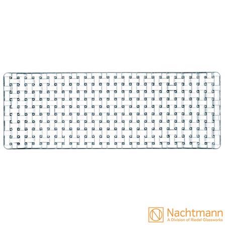 Travessa em Cristalin Bossa Nova com 15 cm - Nachtmann, Não se aplica, Cristalin, 1, 03 meses