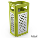 Ralador Dobrável 4 Faces em Inox Verde - Joseph Joseph