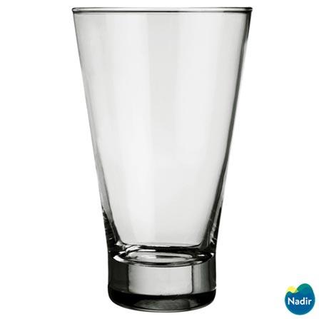 Conjunto de Taças para Coquetel em Vidro com 04 Peças - Nadir Figueiredo, Não se aplica, Vidro, 04 Peças, Variados, 03 meses