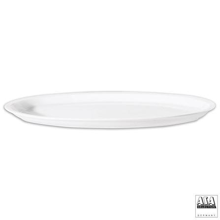 Travessa Oval em Cerâmica com 34 cm - ASA, Branco, Cerâmica, 1, 03 meses