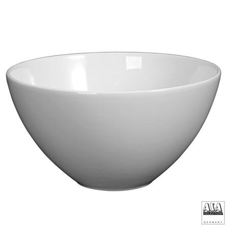 Bowl Redondo em Cerâmica 25 cm Branco - ASA, Branco, Cerâmica, 1, 03 meses