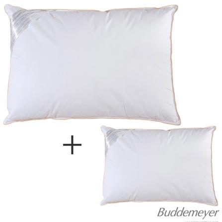 02 Travesseiros Toque de Pluma Branco – Buddemeyer, 1