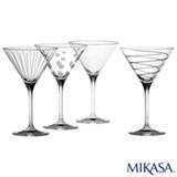 Conjunto de Tacas Cheers para Martini em Cristalin de 295 ml - Mikasa