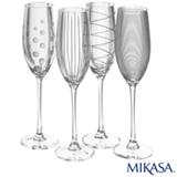 Conjuntos de Tacas para Champanhe em Cristalin de 236 ml - Mikasa