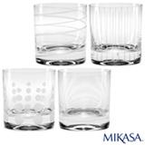 Copo para Whisky Cheers Mikasa em Cristalin com 377 ml de Capacidade
