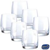 Conjunto de Copos Ideal Fyh em Cristal 290 ml com 06 Peças - Bohemia