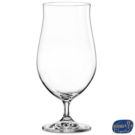 Conjunto de Taças Boc em Cristal 550 ml com 04 Peças - Bohemia, Não se aplica, Cristal, 04 Peças, 03 meses