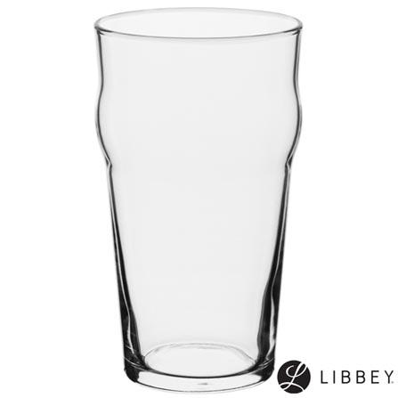 Conjunto de Copos Craft Brew English Pub em Vidro 590 ml com 04 Peças - Libbey, Não se aplica, Vidro, 04 Peças, 03 meses