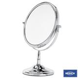 Espelho Dupla Face em Aço Cromado para Bancada - Brinox