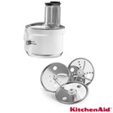 Processador de Alimentos Kitchenaid para Stand Mixer em Plástico e Inox Cinza - KI740ABONA