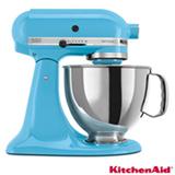 Batedeira KitchenAid Stand Mixer com 10 Velocidades 275W Crystal Blue - KEA33