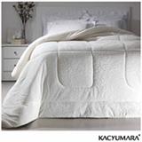 Cobertor Queen em Poliéster Duoblanket Branco - Kacyumara