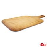 Tábua de Corte Paddle Tyft Retangular em Bambu - Yoi