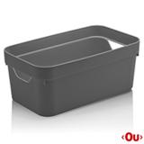 Caixa Organizadora Cube P Chumbo - Ou