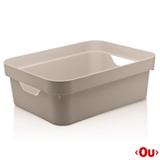 Caixa Organizadora Cube M Bege - Ou