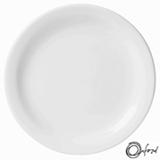 Conjunto de Pratos Rasos Oxford Daily Branco com 6 Peças - JM12-6014