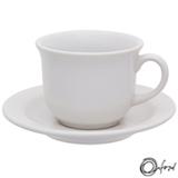 Conjunto de Xícaras para Chá Oxford Daily Branco com 06 Peças - JM21-6014