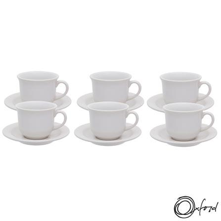 , Branco, Chá, Liso, Cerâmica, 6, 12 meses