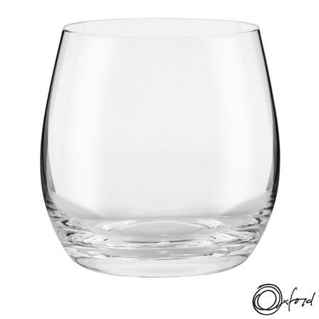 Conjunto de Copos em Cristal de 420 ml - Oxford, Não se aplica, Cristal, 06 Peças, 420 ml, 03 meses