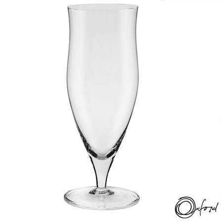 Conjunto de Copos e Taças para Cerveja em Cristal - Oxford, Não se aplica, Cristal, 06 Peças, Variados, 03 meses