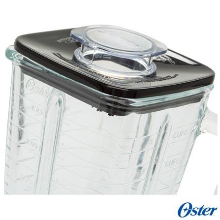 Liquidificador Oster Clássico Prata com 03 Velocidades e Jarra com 1,25 Litros - 004655, 110V, 220V, Prata, Vidro, 3, 1,25 Litros, Não, 600 W, Importado, 12 meses, 1,25 Litros