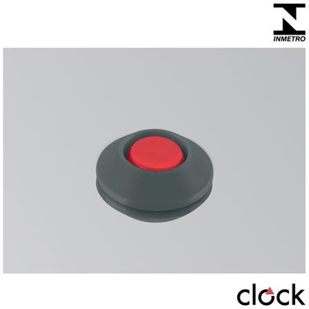 , Não se aplica, Panela de Pressão, 01 Peça, 4,5 Litros, 20 cm, Alumínio e antiaderente, 24 meses