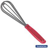 Batedor Manual Tramontina Utilitá em Nylon, Vermelho - 25674170