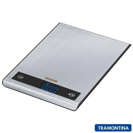 Balança Digital para Cozinha Tramontina com Capacidade de 5 Kg - 61101000, Não se aplica, 03 meses